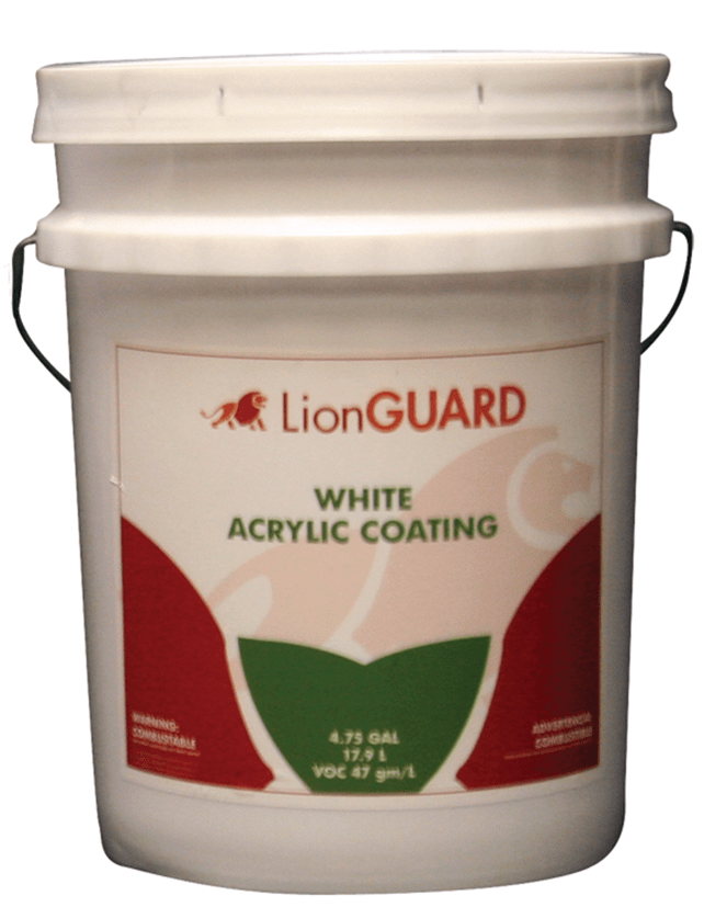 White Acrylic Roof Coating-Standard Grade